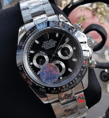 Rolex Daytona Cosmograph Seramik Besel Siyah Kadran Replika Erkek Kol Saati