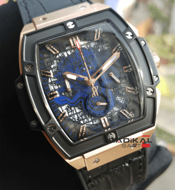 Replika Hublot-Hublot MP-06 Senna Rose Gold Kasa