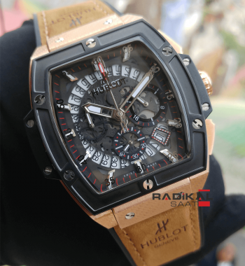Replika Hublot-Hublot MP-06 Senna Taba Kordon