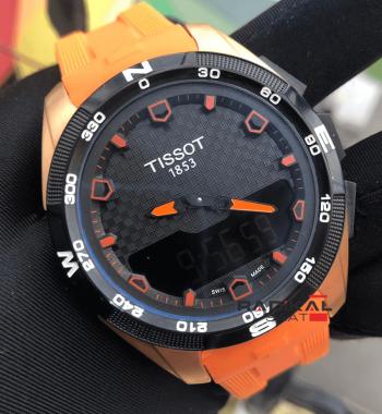 Replika Tissot- Tissot T-Touch Solar Turuncu Slikon Kordon