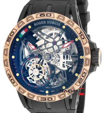 Replika Roger Dubuis-Roger Dubuis Horloger Henevois Aventador Tourbillon Mekanizma