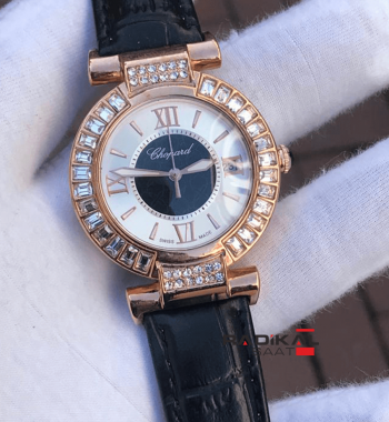 Replika Chopard-Chopard Imperiale Diamond Rose Kasa Bayan Saati