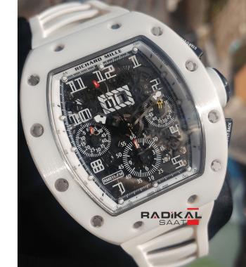 Richard Mille RM011-FM Felipe Massa V6F 1:1 En İyi Üretim Swiss 7750 Mekanizma