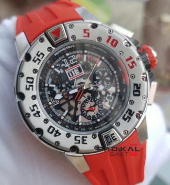 Richard Mille RM032 Noob Fabrika V6F 1:1 En İyi Üretim Swiss Eta Saat
