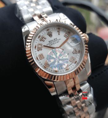Rolex Datejust 31 MM Tırtıklı Besel Replika Bayan Kol Saati
