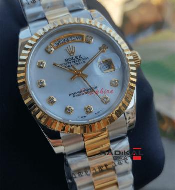 Rolex Day-Date Oyster Kordon 36 MM Replika Bayan Kol Saati