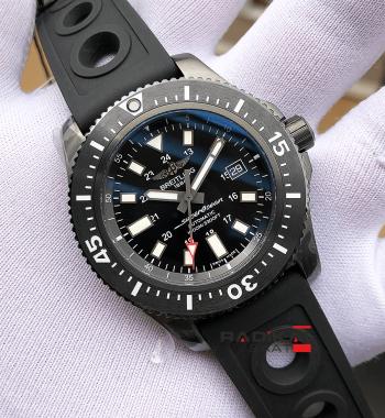 Swiss Eta-Breitling Superocean Avenger II GMT 1.1 Noob En İyi Üretim Eta Saat