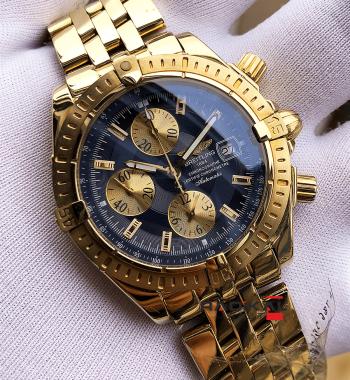 Swiss Eta-Breitling Chronomat Gold 1.1 En İyi Noob Fabrikasyon Üretimi Swiss Eta Saat