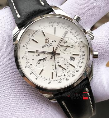Swiss Eta-Breitling Transocean Chronographe 1.1 En İyi Üretim Swiss 77550 Mekanizma Eta Saat