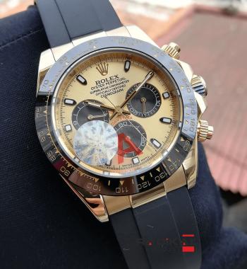 Rolex Replika Daytona Cosmograph Gold Kasa & Kadran