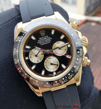 Rolex Cosmograph Daytona Gold Kasa Seramik Bezel