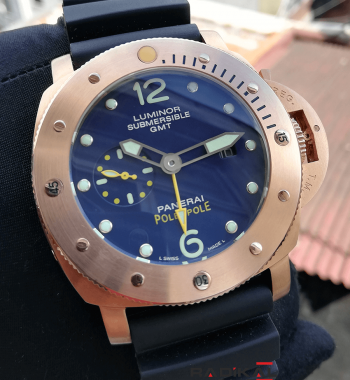 Panerai GMT Pole2Pole Luminor Submersible Rose Kasa