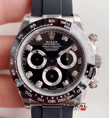 Rolex Daytona Cosmograph 116519 Noob 1:1 En İyi Baskı 904L Paslanmaz Çelik Kasa