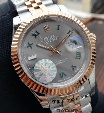 Rolex Datejust Wimbledon Roma Rakamlı Erkek Kol Saat Modelleri