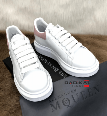 Alexander Mcqueen Pudra Pembesi Bayan Ayakkabı