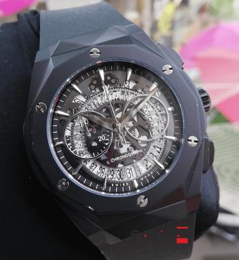 Hublot 2019 En Yeni Model PVD Siyah Kasa Erkek Kol Saati