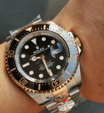 ETA Rolex Sea-Dweller 2019 Yeni Seri  Siyah Kadran ARF 1:1 En İyi Baskı Süper Clone