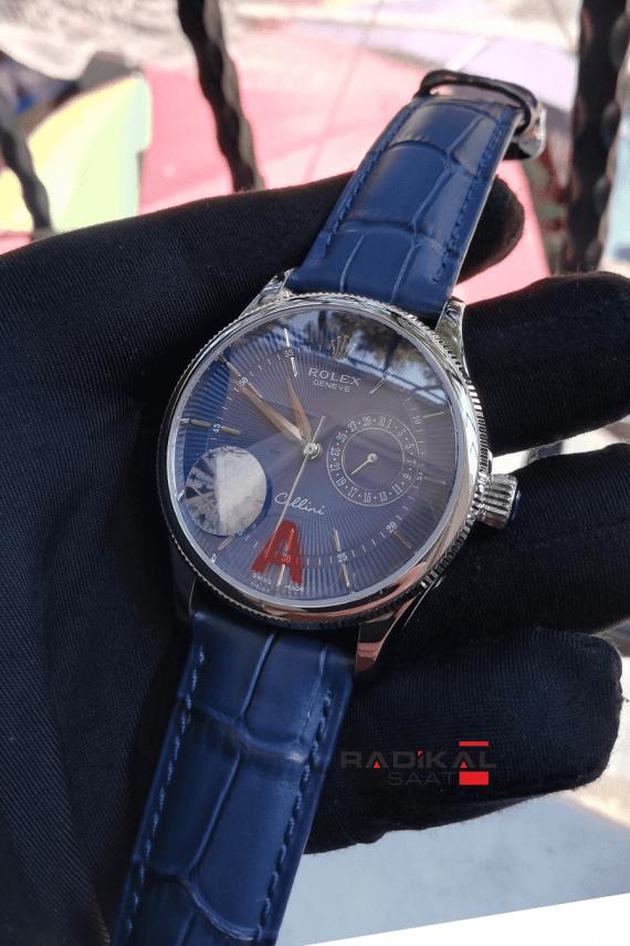 Rolex Cellini Lacivert Kadran