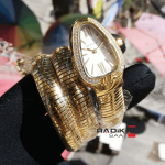 Bulgari Serpenti Yılan 3 sarmal Gold