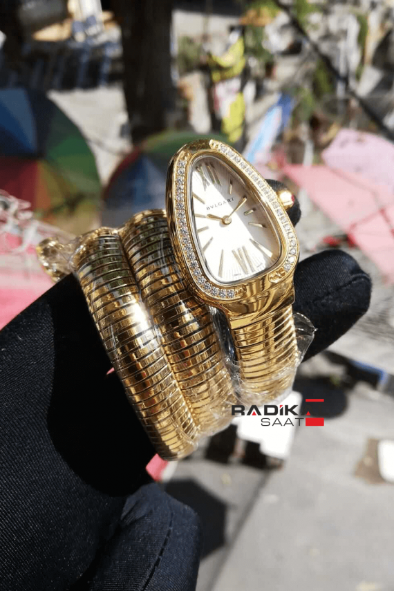 Bulgari Serpenti Yılan 3 sarmal Gold