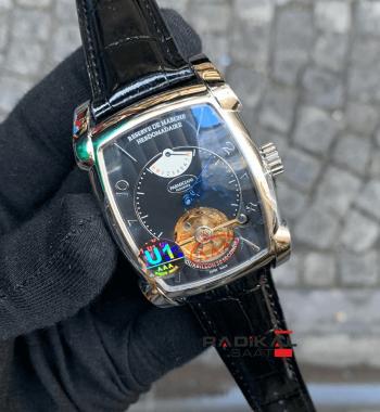 Parmigiani Fleurier Hebdomadaire Reserve Tourbillon Replika Erkek Kol Saati