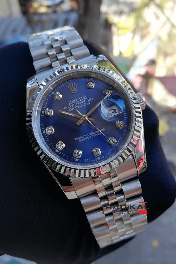 Rolex Datejust 36mm Mavi Dial
