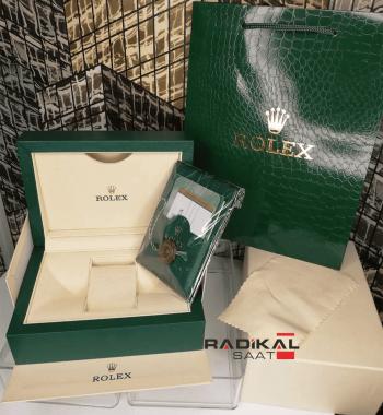 Orijinal Rolex Saat Kutusu Sertifikalı Büyük Boy Birebir