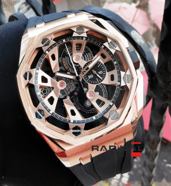 Audemars Piguet Royal Oak Offshore Consept Rose Kasa Replika Erkek Kol Saati