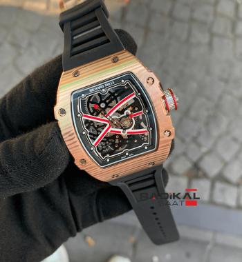 Richard Mille Limited Edition RM-038-01 İskelet Kadran Replika Erkek Kol Saati
