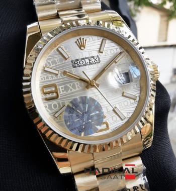 Rolex Datejust 36MM Baskılı Kadran Bayan Kol Saati