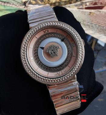 Versace V-Metal Rose Kasa Replika Bayan Kol Saati