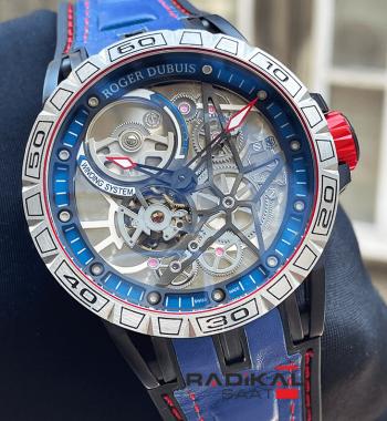 Roger Dubuis Excalibur Kırmızı Spider Pirelli