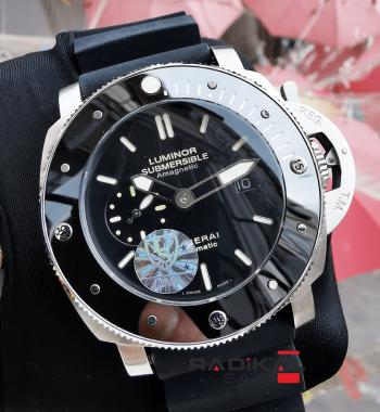 Panerai Luminor Submersible Amagnetic Seramik Besel Replika Erkek Kol Saati