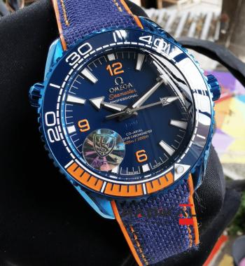 Omega Seamaster Professional Mavi Kadran Replika Saat