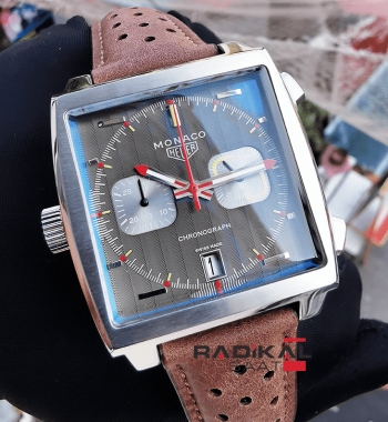 Tag Heuer Monaco New Model Quartz Mekanizma Replika Erkek Kol Saati