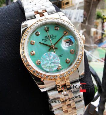 Rolex Datejust Yeşil Sedef Kadran Bayan Saati