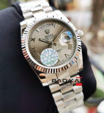 Rolex Day-Date Oyster Kordon Roma Rakamlı Bayan Saati