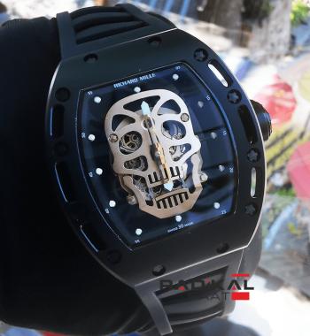 Richard Mille Skull RM 52-01 Replika Erkek Kol Saati