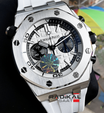 Audemars Piguet Royal Oak Offshore Diver Beyaz