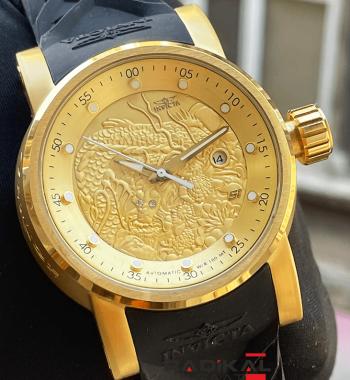 İnvicta S1 Gold Kasa Replika Erkek Kol Saati