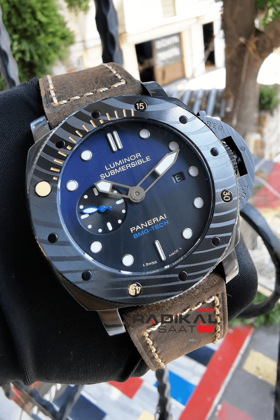 panerai luminor submarsible bmg-tech