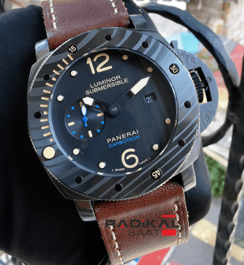 Panerai Carbotech Submarsible Replika Erkek Kol Saati