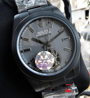 Rolex Label Noir Milgauss Tourbillon PVD Siyah Kasa