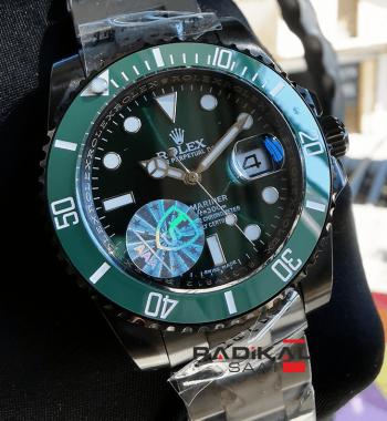Rolex Submariner PVD Kasa Yeşil Besel Replika Saat