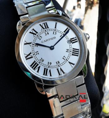 Cartier Slim Kasa 36 MM Replika Bayan Kol Saati