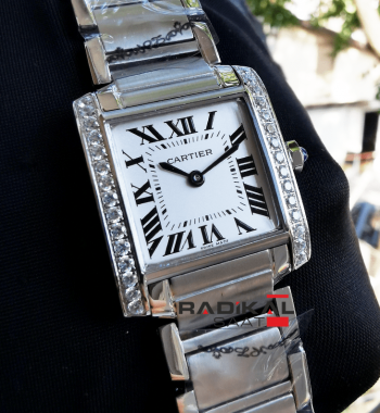 Cartier Tank 33 MM Replika Bayan Kol Saati