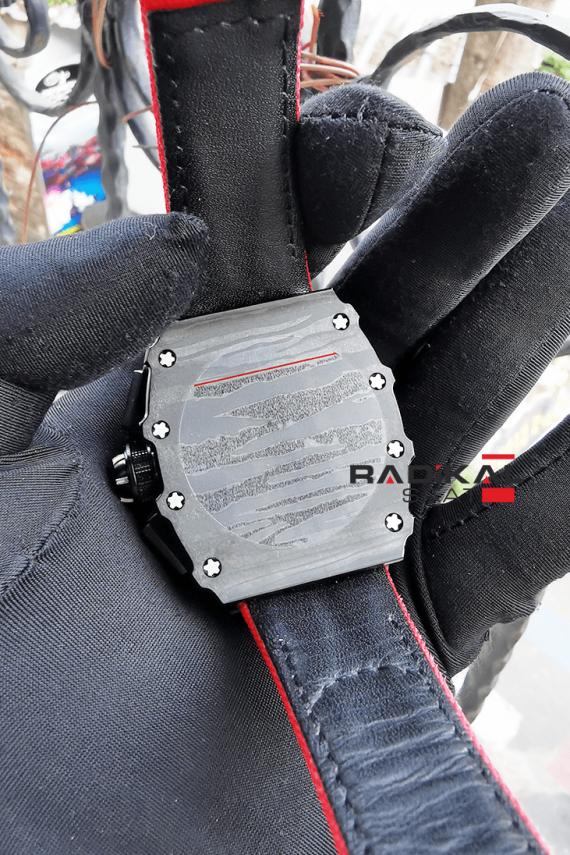 Richard Mille RM 50-03 McLaren Kırmızı Örgü Kordon