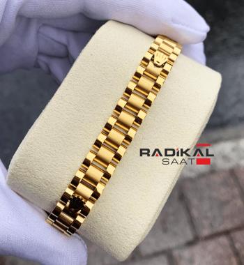Rolex Oyster Kordon Gold Renk Erkek Bileklik Modelleri