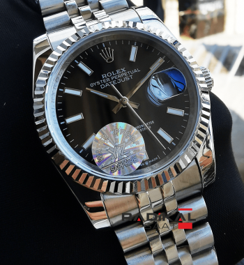 Rolex Datejust 36 MM Siyah Kadran Replika Bayan Kol Saati
