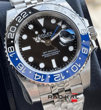 Rolex Gmt Master II Batman Jubilee 3285 1.1 Clone ETA
